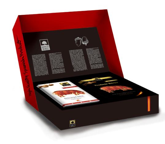 Monteroble 伊比利亚火腿礼盒