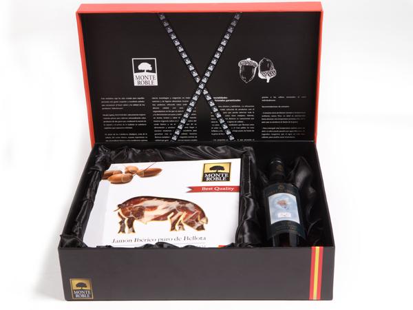 橡山(Monteroble)伊比利亚火腿礼盒